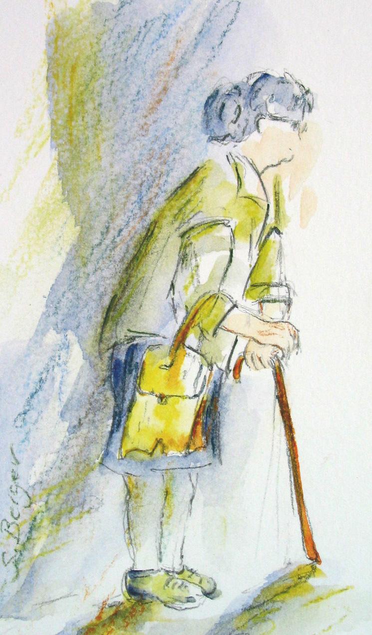 La dame au sac