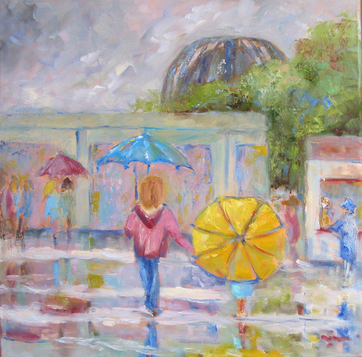 Viens maman, il pleut