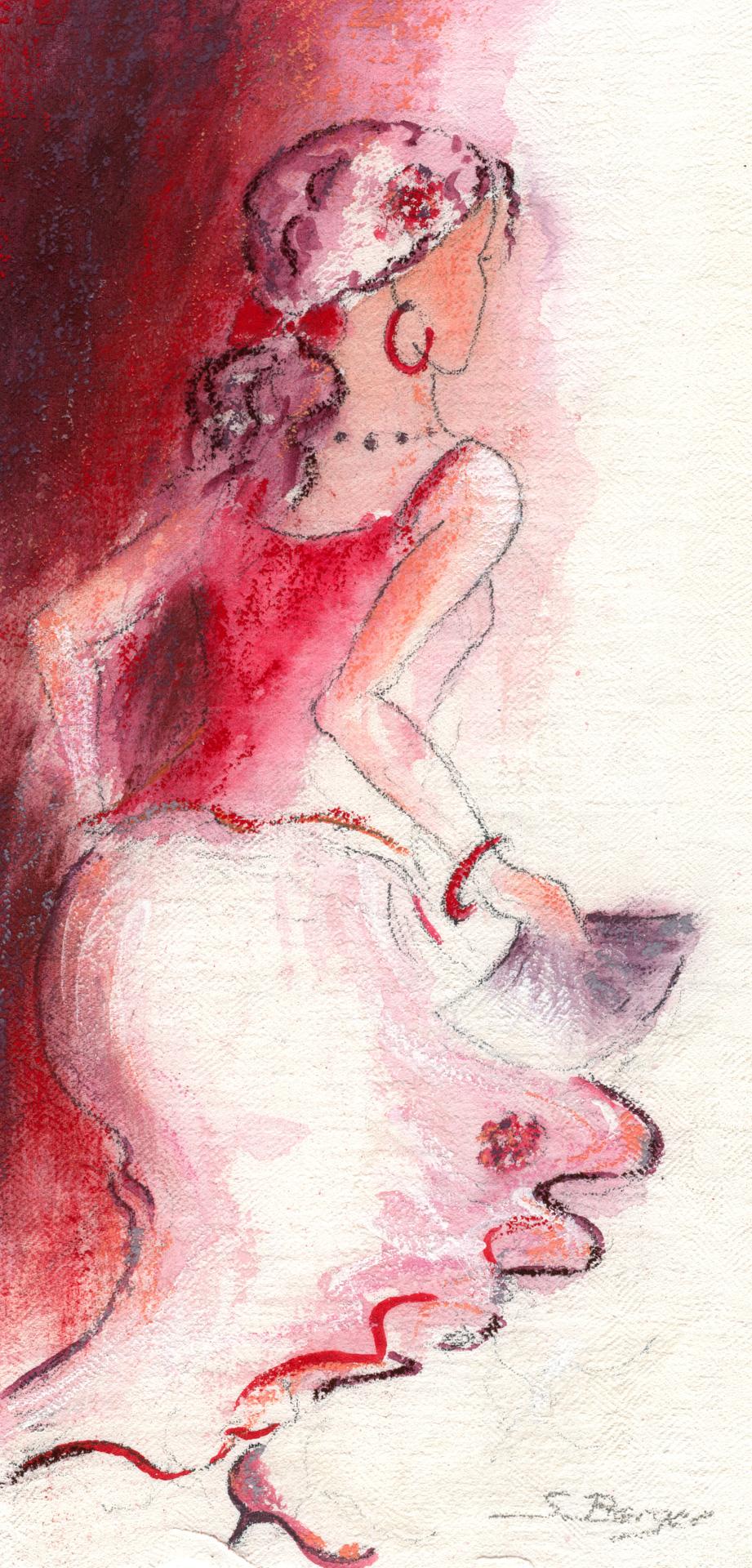 Flamenco, variation 1