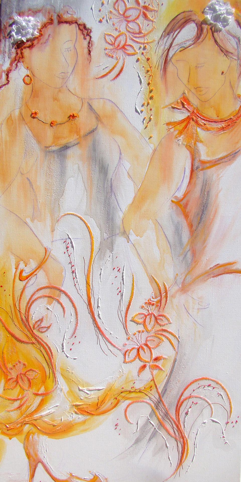Flamenco, variation en orange