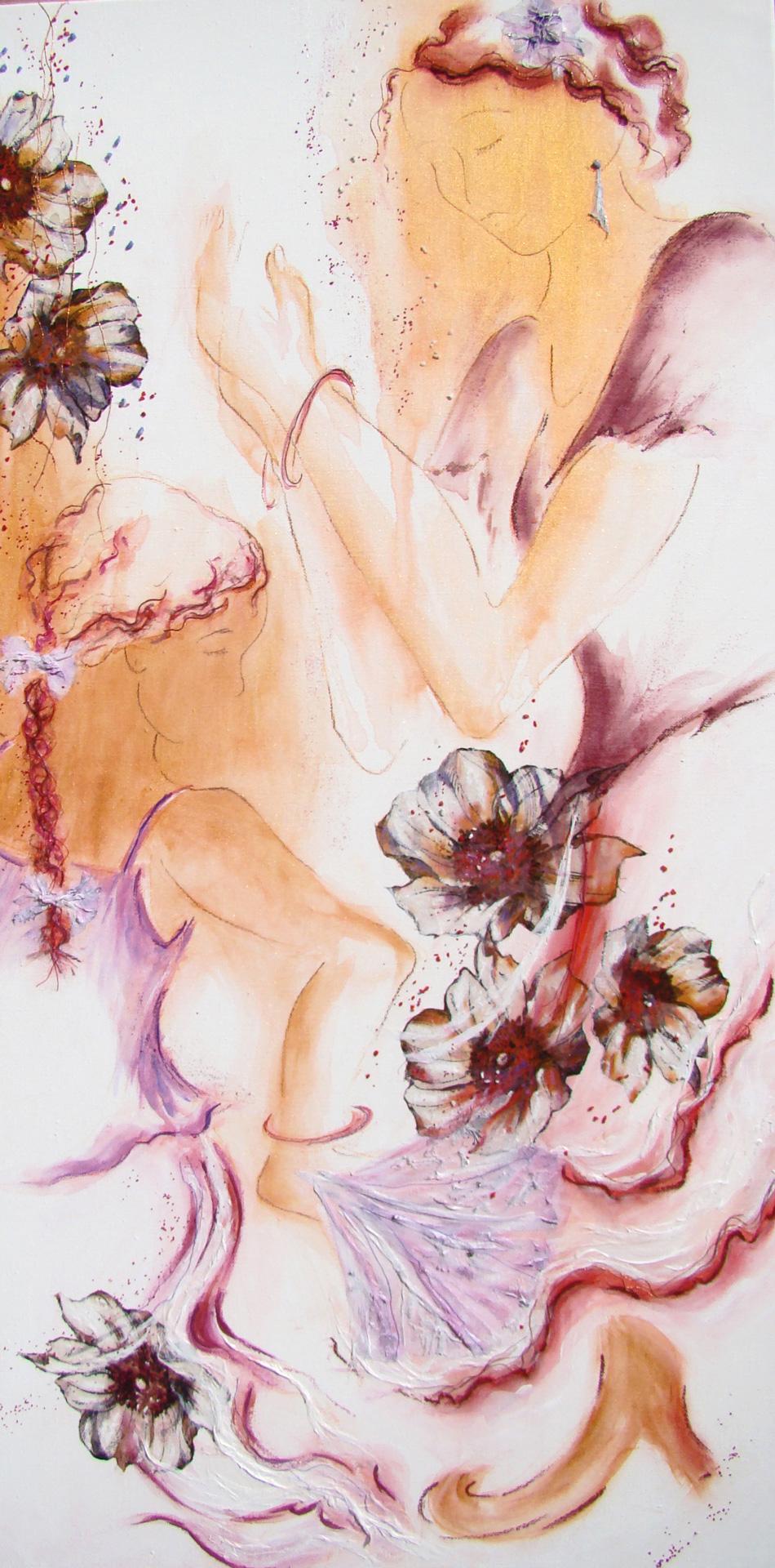 Flamenco, variation en violet